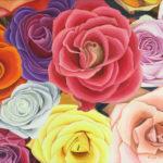 Gemälde von Rosen