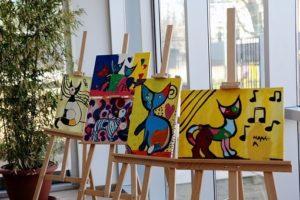 Kunstausstellung Malschule Leipzig